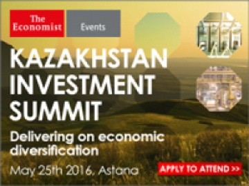The Economist Events' Kazakhstan Investment Summit