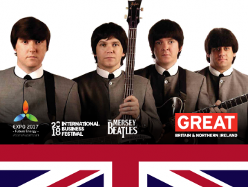 Expo Edition: Invitation to Mersey Beatles Concert